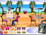flash игра Beach Restaurant