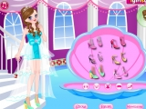 flash игра Princess Castle Party