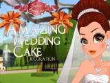 flash игра Удивительные украшения Свадебный торт