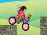 flash игра Дора Безопасный велосипед