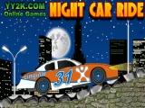 Поездка Ночь автомобилей
