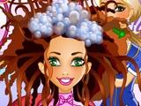 flash игра Hair Studio Свадебный издание