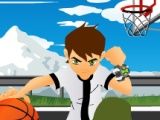 flash игра Ben10 Basketball