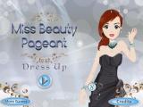 flash игра Miss Beauty Pageant Dress Up