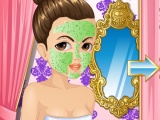 flash игра French Princess Facial