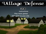 Flash игра для девочек Village defence