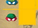 flash игра Ninja Turles tic tac toe