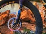 Hidden bike wheels