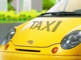 flash игра Taxi parking