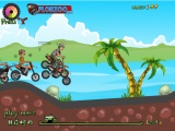 flash игра Hill blazer stunts
