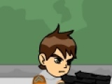 flash игра Ben 10 - Zombie Halloween