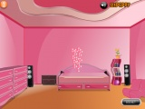 Amys pink bedroom