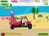 flash игра The Beach Buggy