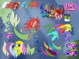 Lovely Mermaid Dressup