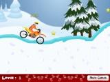 flash игра Naruto Winter Motocross