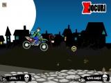 flash игра Ben10 Halloween Bike