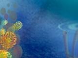 flash игра Underwater solitaire