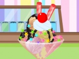 flash игра Huge ice Cream Sundae