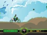 Ben 10 on motorbike