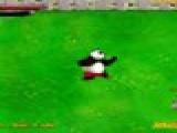 flash игра Panda vs zombie