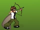 flash игра Ben 10 Super Archer