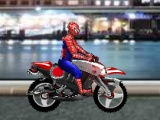 flash игра Spiderman Biker
