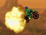 flash игра Ninja Turtle Death Deser
