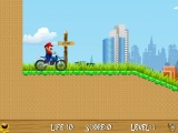 Mario On The Ride