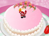 flash игра Christmas Cake Decor