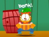 flash игра Garfield Coop Catch