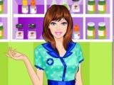 flash игра Barbie Pharmacist