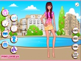 flash игра Spring Girl Dress Up