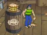Scooby Doo Pirate Pie Toss