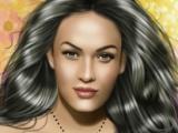 flash игра Megan Fox Makeup