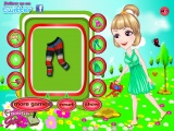 flash игра Arbor Girl Dress Up