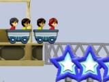 flash игра Rollercoaster Rush