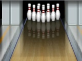 flash игра Two Player Bowling