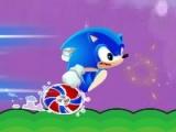 flash игра Sonic Launch