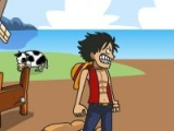 flash игра One Piece Vs Zombies