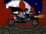 flash игра Batman Biker