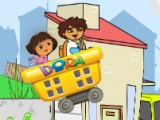 flash игра Dora City Railroad