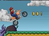 flash игра Mario Motor Bike