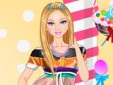 flash игра Candy Barbie