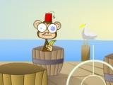 flash игра Barrels of Monkeys
