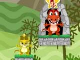 flash игра Dino Eat Meat