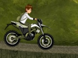 flash игра Ben 10 Adventure Ride