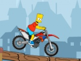 flash игра Bart On Bike 2