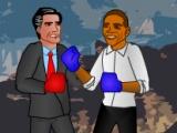 flash игра Obama vs Romney