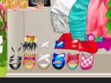Flash игра для девочек Barbie's Engagement Party Dress Up