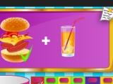 flash игра Barbie Fun Cafe